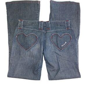 Frankie B Heart Pocket Jeans